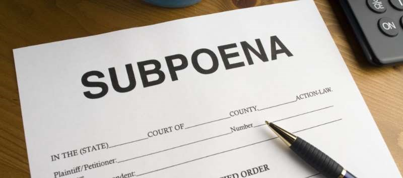 Patient Sues Clinician for Privacy Violation After Practice Responds to Subpoena