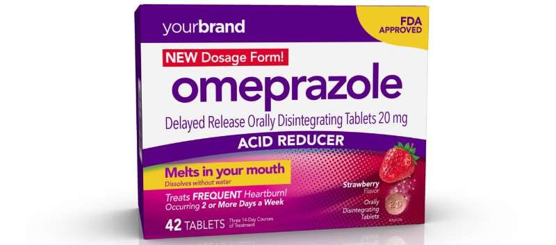 OTC Heartburn Treatment Available in New Orally Disintegrating Tablets
