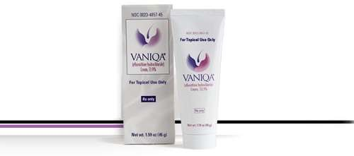 Vaniqa Cream Currently in Shortage