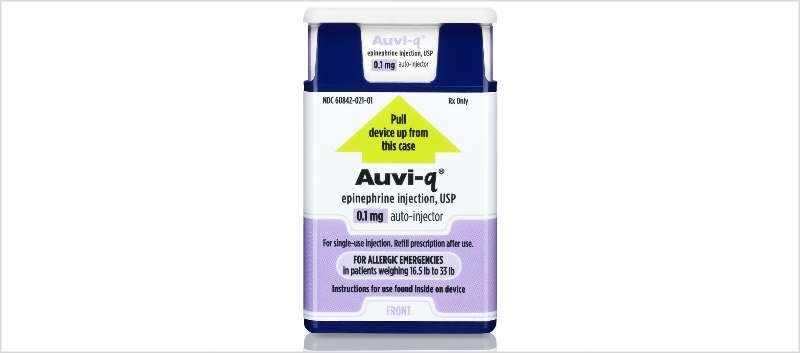 Auvi-Q 0.1mg Auto-Injector Available Soon for Infants, Toddlers