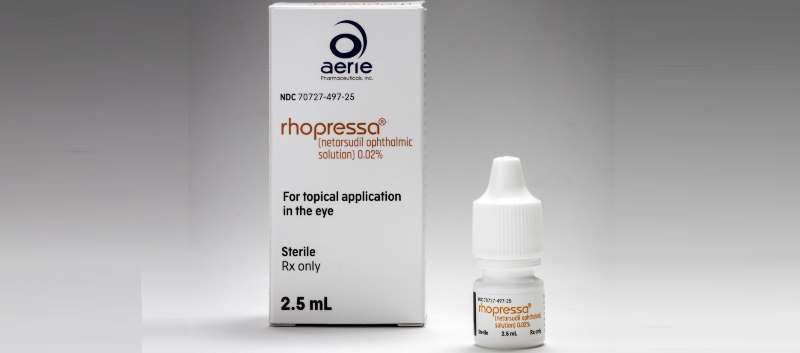 Rhopressa Now Available for Open-Angle Glaucoma, Ocular Hypertension