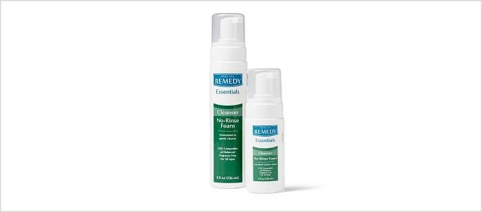 The FDA is advising consumers and clinicians to avoid using all lots of Remedy Essentials No-Rinse Cleansing Foam.