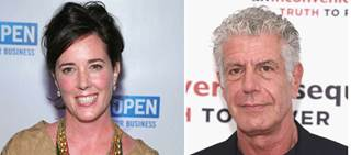 Both Kate Spade and Anthony Bourdain died this week from suicide.
