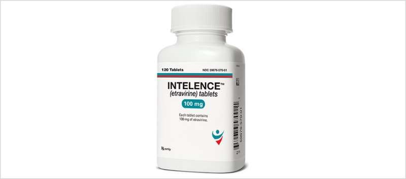 Intelence tablets may be dispersed in a glass of water