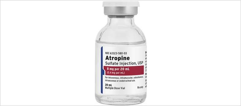 Atropine Sulfate Injection Now Available in 8mg/20mL Multiple-Dose Vial