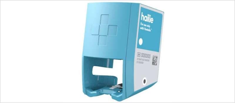 The Hailie sensor for Ventolin HFA inhalers