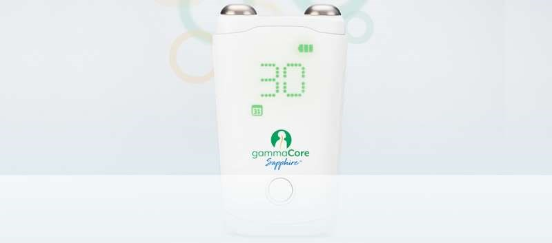 gammaCore is a non-invasive vagus nerve stimulator (nVNS) therapy