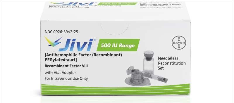 Jivi is a recombinant DNA-derived factor VIII (FVIII) concentrate that replaces the reduced or missing FVIII.