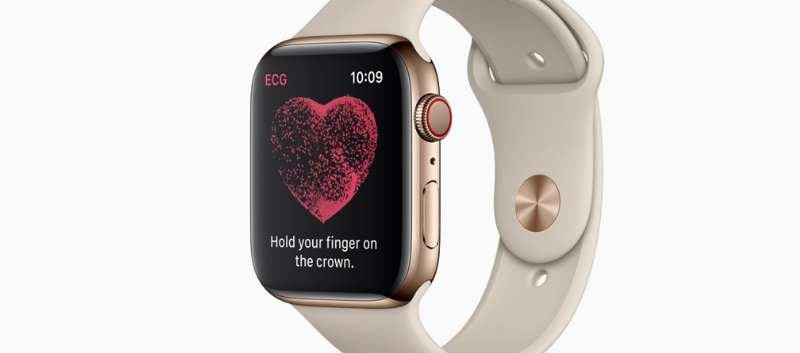 New Apple Watch Includes ECG App, Irregular Heart Rhythm Notification Feature