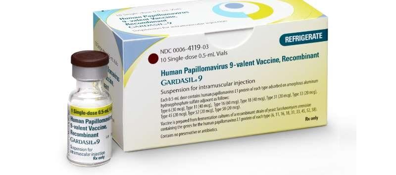The FDA granted the Gardasil 9 application priority review status