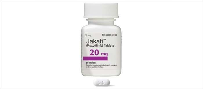 Jakafi is a first-in-class JAK1/JAK2 inhibitor
