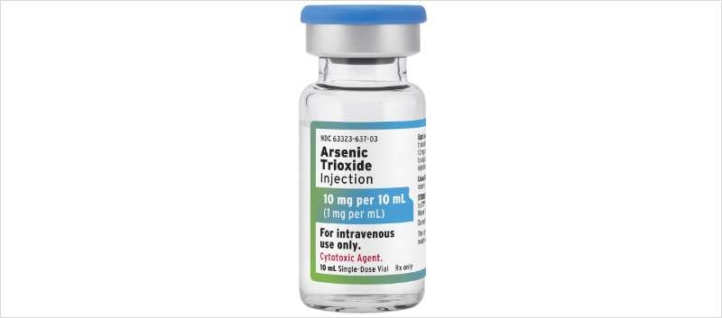 Arsenic Trioxide Injection is supplied in 10mL single-dose vials