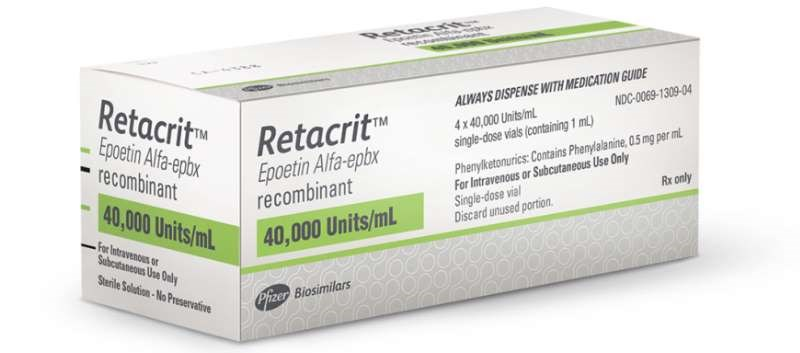 Retacrit initially received approval from the Food and Drug Administration in May 2018