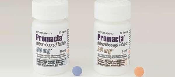 Promacta is a thrombopoietin receptor agonist.