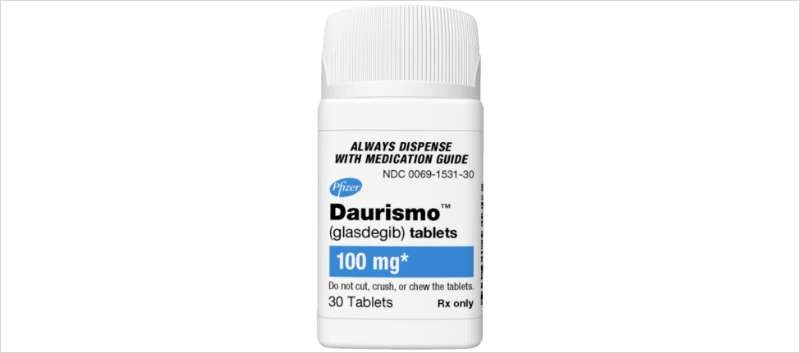 Daurismo, an oral once-daily therapy, is the first Hedgehog pathway inhibitor approved to treat AML