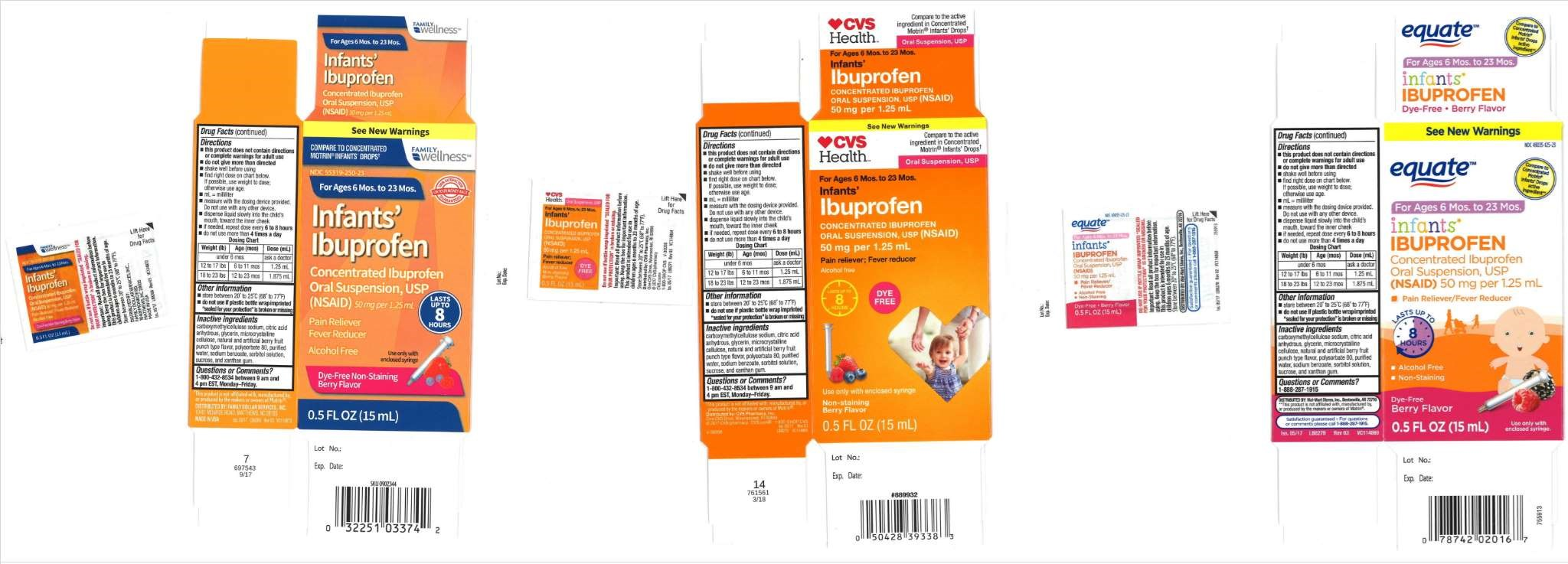 Childrens' Pain Reliever Recalled Due to Potentially Higher Potency Level