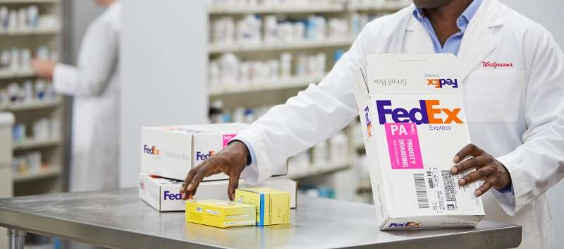 Walgreens Now Offers Next-Day Rx Delivery Service With FedEx
