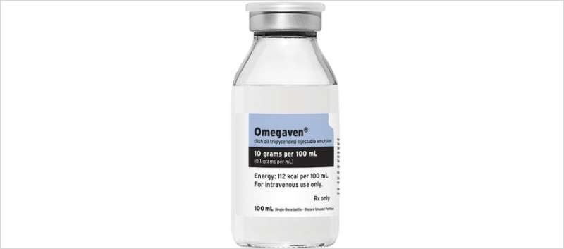 Omegaven Available for Pediatric Parenteral Nutrition-Associated Cholestasis
