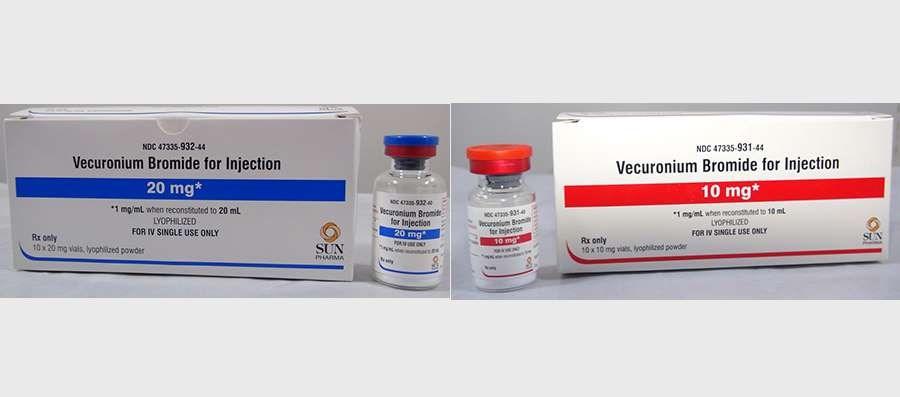 Glass Particulate Identified in Certain Vials of Vecuronium Bromide